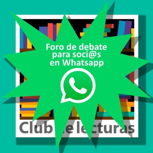 Foro en Whatsapp